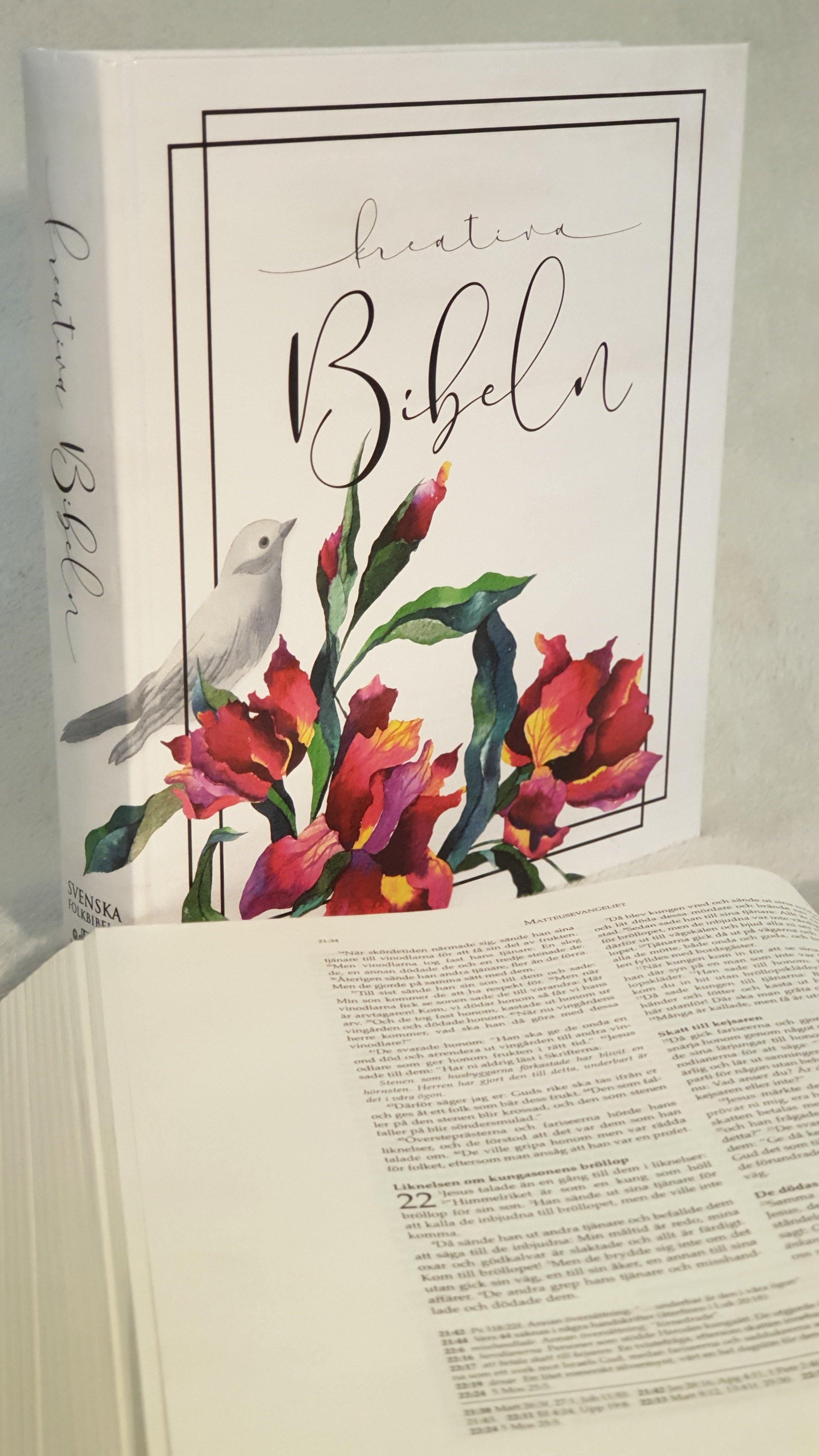 Bibel med breda marginaler