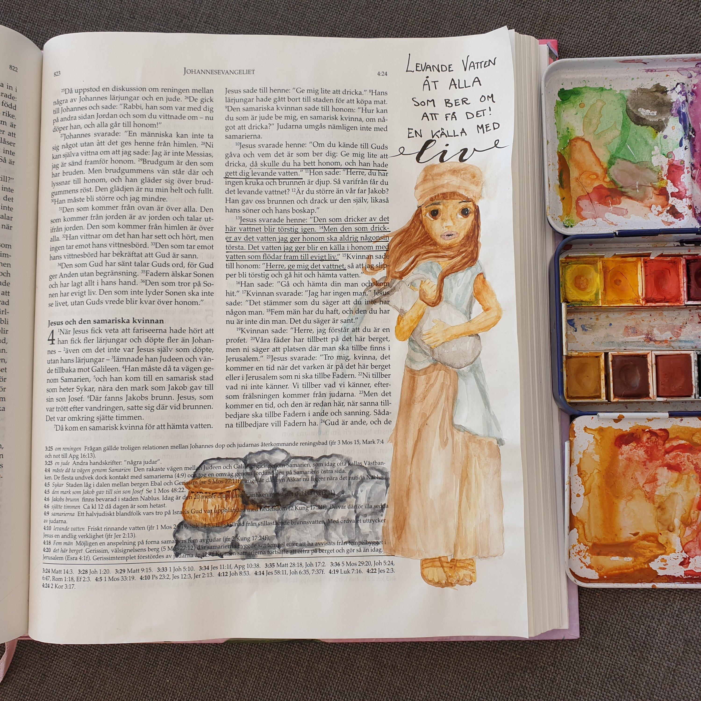 Måla i bibelns marginal