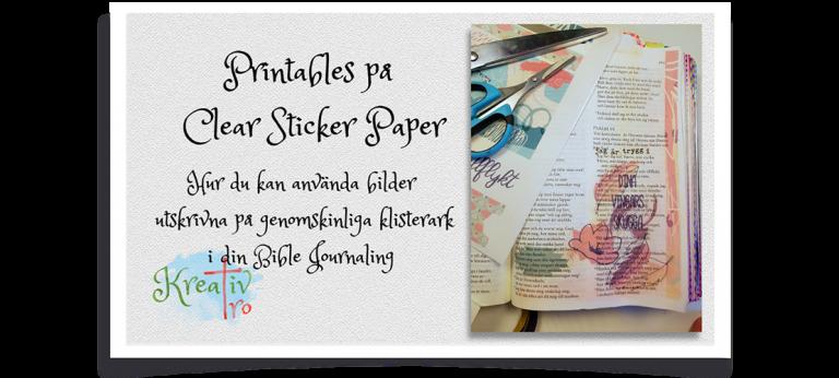 Printable Bible Journaling