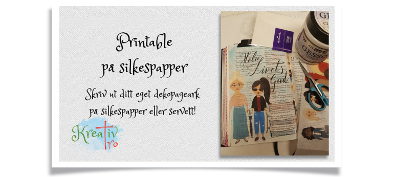 Bible Journaling Silkespapper