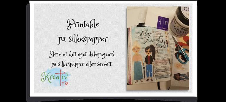Bible Journaling Silkespapper
