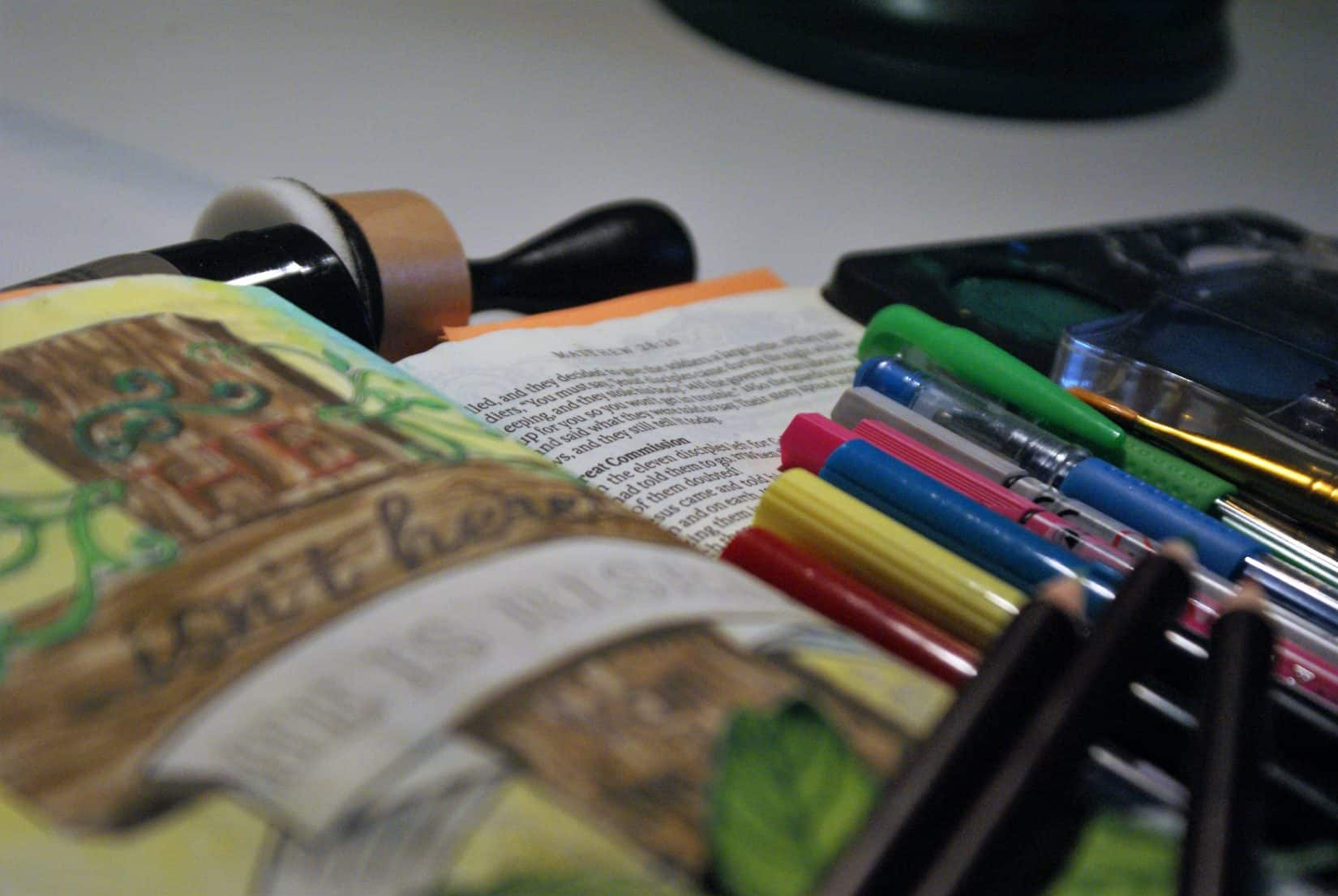 Bible Journaling på svenska