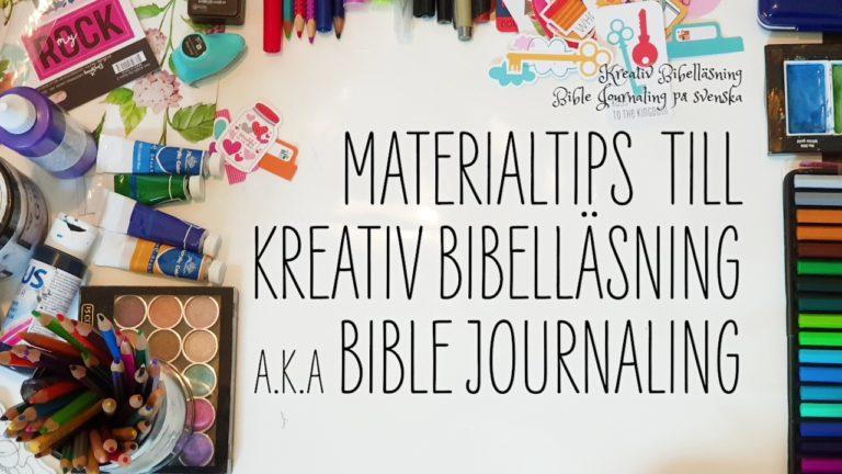 Material till kreativ Bibelläsning