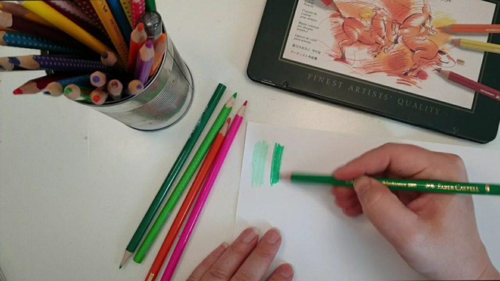 Färgpennor i bibeln